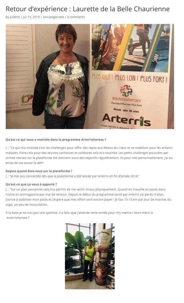 Article Laurette_Arterris