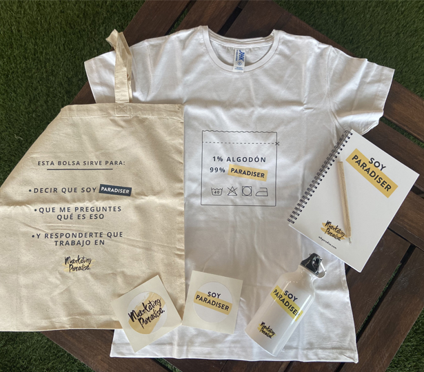 Marketing Paradise Welcome Pack